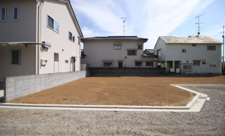 松山市西垣生町新規分譲地1号地写真