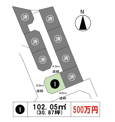 堀江区画図
